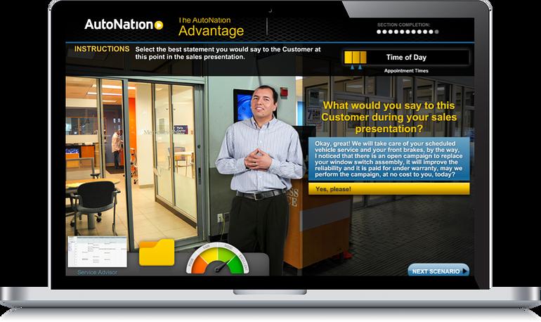 AutoNation Service Advisor Case Study