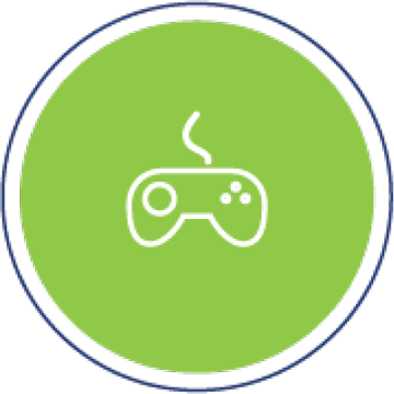 Games and Simulations Icon